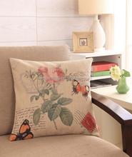 screen printed cotton photo print cushions