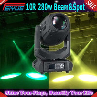 Newest 3 In 1 Robe Pointe 280w Beam Moving Head Light Beam 280 Beam 10r For Stage Theater Disco Di Party