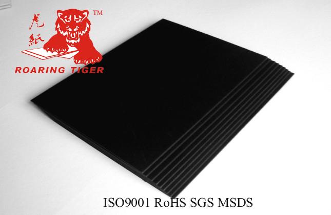 Coloured Cardboard Paper Black Colour Cardboard