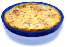 CM-048A 8'' silicone round baking pan