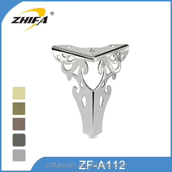 Superior metal chair aluminum leg caps