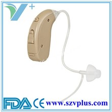 2015 promotion sales! FDA CE approved digital BTE hearing aids, thin tube hearing aids