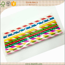 Hotsale Cheapest Paper Straws Wholesale for Wedding Birthday Party Decoration