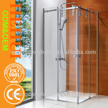 2RC-H6802(2) custom made shower enclosures and glass cabins with steam bath room