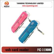 magnetic card reader 4 IN 1 usb card reader writer