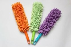 Chenille Cleaning Product with plastic handle