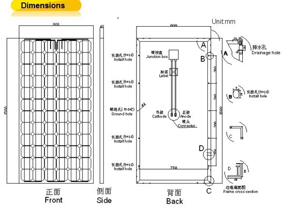 100kw Off Grid Solar System Solar Power System Solar