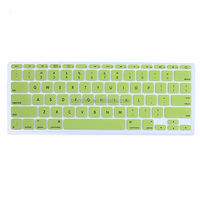 Ultra-sensitive Soft Touch Snug-fitting Silicone Keyboard Skin to be Compatible for Mac Pro 13''& 15''