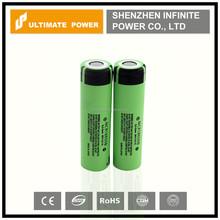 Mechanical mods battery panasonic ncr 18650b 3400mah 3.7v for flashlight high capacity battery cell