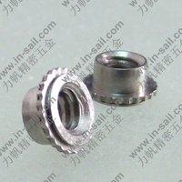 Spacer for sheet metal