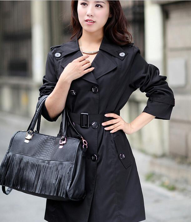 desigual женщин тонкие женские тренчи Весна ветровка верхняя одежда пальто plue размер m-4xl