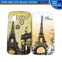 Hot Selling Eiffel Tower Pattern Diamond Case For LG Nexus 4 E960