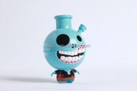 custom plastic zombie figures vinyl toys,cheap plastic model vinyl figure wholesales