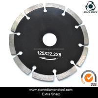 "4"" circular dry/wet segment diamond saw blade for artificial quartz stone concrete marble cutting"