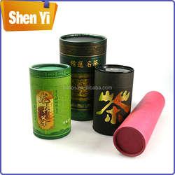 Luxury best-selling round paper tea box round tea packaging box with lid