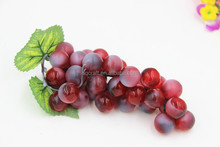 artifiicial big grape fake bunch fruit faux food kitchen house Decorative Bunch of Green/red Grapes