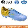 Nuevo diseño venta al por mayor zapatos de futbol sala fútbol