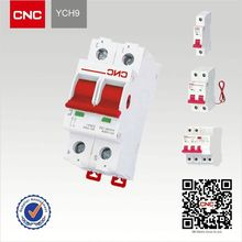 China top 100 enterprise New product YCH9 Disconnector f&g circuit breaker