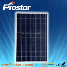 Prostar 100w taiwan solar panel manufacturers
