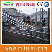 Alumínio de alta qualidade circular ou curvo truss para venda