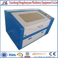 cheap co2 50w 60w laser engraving machine FL-350 for wood/acrylic artworks