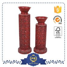 Export Quality Customization Eco-Friendly Wall Candle Holder Leaf