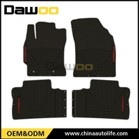 used for TOYOTA COROLLA 2015 waterproof 3d rubber car floor mat