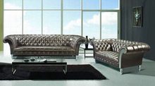 luxury italian sofas leather chesterfield sofa 905#
