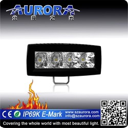 """Excellent in quality 4"""" single row waterproof led off road lights"""