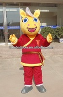Cartoon costume horse for adult