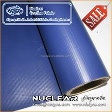 Bonne qualité couteau - sur rouleau 100% PES pvc enduit tissu bâche pvc rouleau matériaux