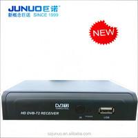 New HD DVB-T2 Terrestrial Digital TV Receiver Support MPEG-4 / DVB-T