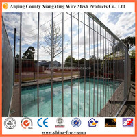 Practical and longevity galvanized metal swimming pool fence for sale