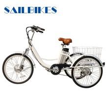 electric three wheel bike for elders