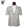 Custom design men safari men clothing with 2 button for sale