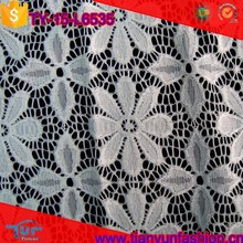 white floral pattern wholesale china high quality overlay uniform lace fabric