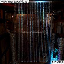 factory price wedding decorations crystal bead curtain for wedding decoration(MC-001)