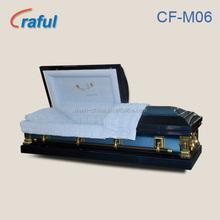 CF-M06 Blue God's Care Amish Coffins