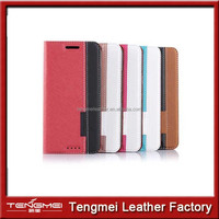 magnet pu leather case for htc one m9, wholesale mobile phone accessories for htc one m9