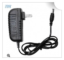 18W AC 100V-240V input voltage DC 12V 9V 6V 5V power adapter for cctv camera