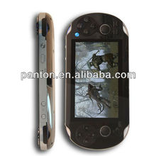 """4.3"""" TFT screen 4GB game console movie/music player camera with dual rocker"""