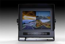 Precio de fábrica RV / sistema de cámaras de BUS con 7 pulgadas QUAD monitor