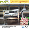 high capacity Chicken Feet Peeling Machine / Chicken Processing Machine / Chicken Feet Cleaning Machine