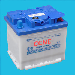 Good Quality with Competition Price Car Dry Charge Battery (N5012V50AH)