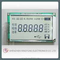New Customized round Segment LCD module with factory price