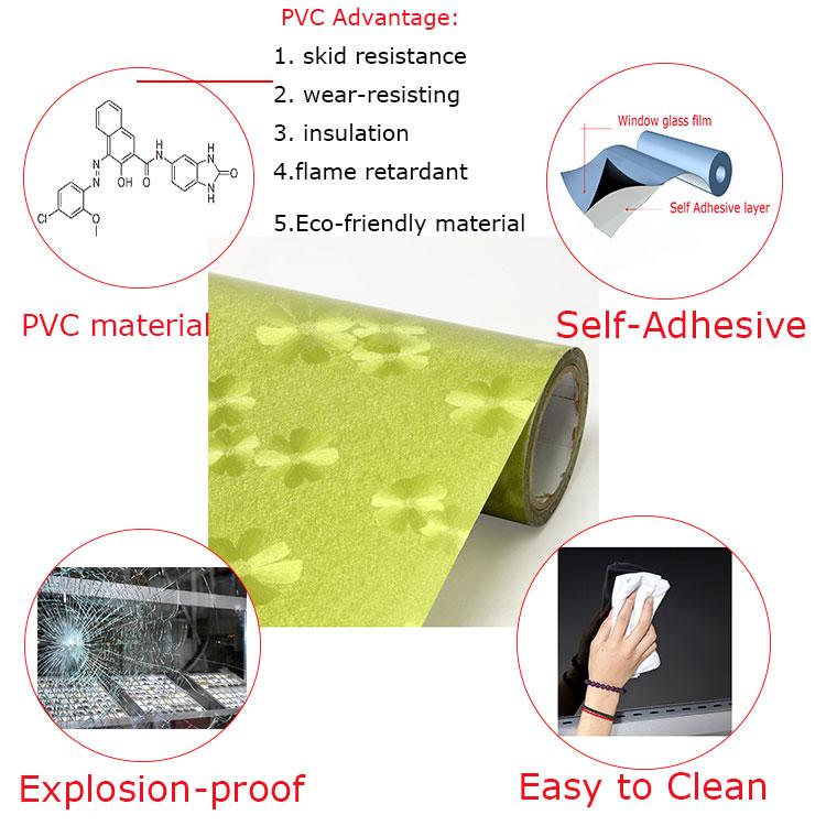 Pvc auto adh sif papier peint pour armoires de cuisine - Papier adhesif pour meuble de cuisine ...