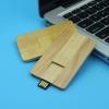 Best gift business wooden card USB 2.0 Flash Memory Stick Pen Thumb Drive 8GB 16GB
