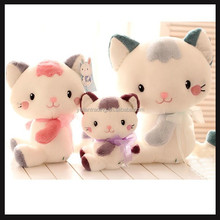 plush animal stuffed toy cats with high quality