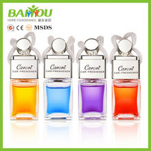 new products 5ml glass bottle hanging auto cheap car freshener