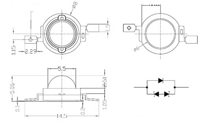 factory price epistar bridgelux chip 100w 70w 50w 30w 20w 10w 5w 3w 1w warm white high power led diode